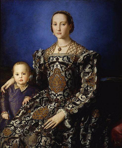 494px-Bronzino_Eleonora_di_Toledo_col_figlio_Giovanni_neurodope.com
