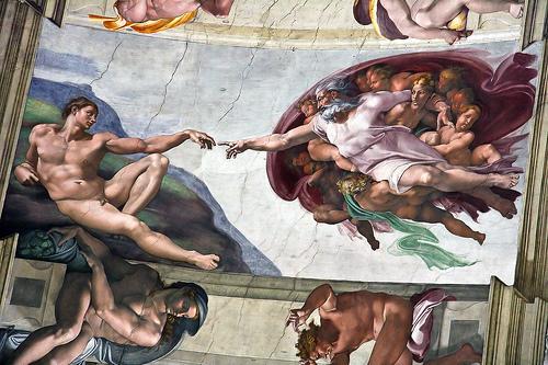 Michelangelo Hid Anatomy of Brain in the Sistine Chapel
