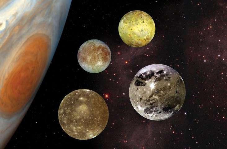 Jupiter's moon Ganymede