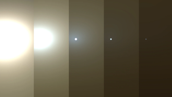 NASA's Opportunity rover has been swallowed up by a Martian dust storm