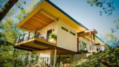 Hemp House-Asheville, NC revisited-Video explaining hempcrete's use ... Hemp.com Asheville hemp house-hempcrete used in building all the walls
